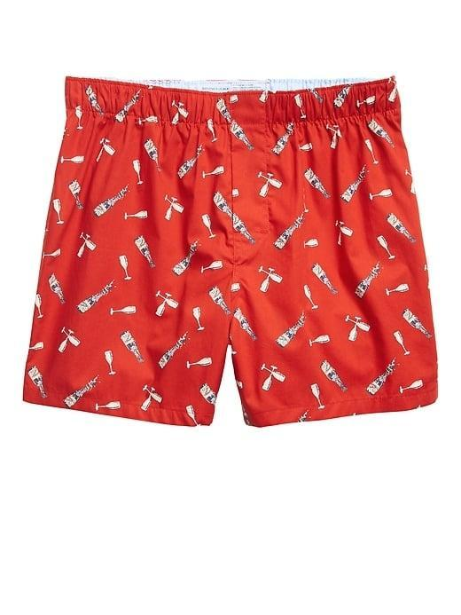 <p>New Year's Eve will probably look a little different this year, but at least these <span>Banana Republic Champagne Toast Boxers</span> ($19) will be celebrating.</p>