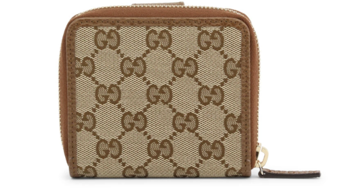 PHOTO: Robinsons. Gucci Women's Leather Small Card Holder and Coin Purse, $549.99 (was $696.60)