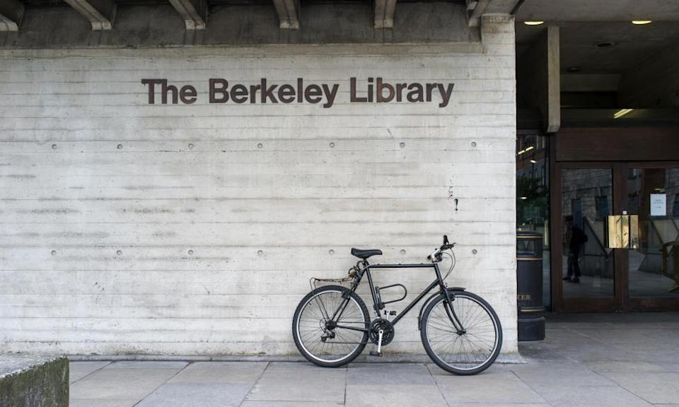 The Berkeley library at Trinity College Dublin.