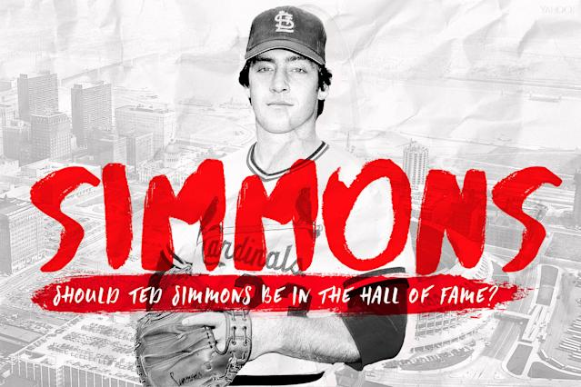 Cardinals catcher Ted Simmons gets another chance at the Hall of Fame. (Amber Matsumoto / Yahoo Sports)