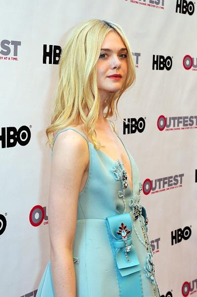 """Elle Fanning, pictured on July 9, 2015, will star in """"About Ray,"""" the story of a girl whostruggles with wanting to be a boy (AFP Photo/Joshua Blanchard)"""