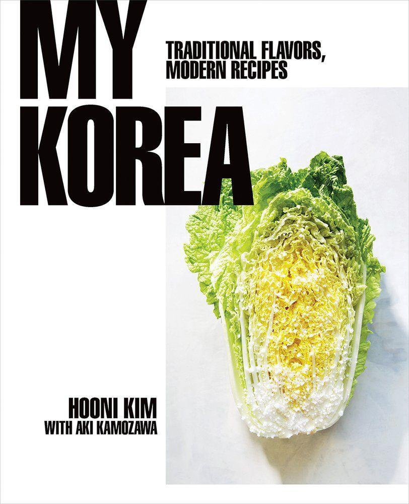 """<p><strong>Hooni Kim</strong></p><p>bookshop.org</p><p><strong>$36.80</strong></p><p><a href=""""https://go.redirectingat.com?id=74968X1596630&url=https%3A%2F%2Fbookshop.org%2Fbooks%2Fmy-korea-traditional-flavors-modern-recipes%2F9780393239720&sref=https%3A%2F%2Fwww.delish.com%2Fkitchen-tools%2Fcookbooks%2Fg33444190%2Fbest-korean-cookbooks%2F"""" rel=""""nofollow noopener"""" target=""""_blank"""" data-ylk=""""slk:BUY NOW"""" class=""""link rapid-noclick-resp"""">BUY NOW</a></p><p>Hooni Kim's restaurant Danji won a Michelin Star—the first Korean restaurant to receive the honor. Kim's focus is on recipes that contain the """"Korean culinary trinity"""": doenjang (fermented soybean paste), ganjang (soy sauce) and gochujang (fermented red chili paste).</p>"""