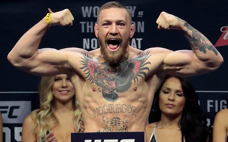 Conor McGregor - Credit: AP