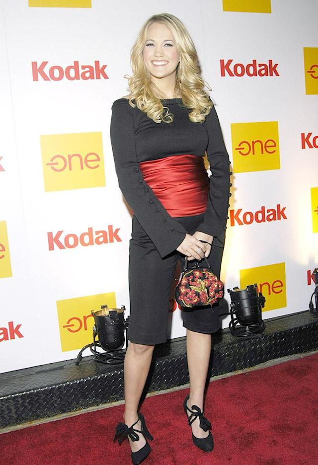 Carrie Underwood during Country Takes New York City - Presents Kodak One Gallery in SoHo at Koday Gallery in New York, New York. (Photo by Desiree Navarro/FilmMagic for Country Music Association)