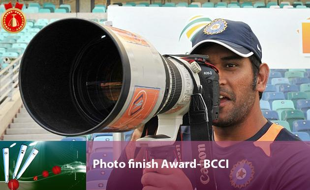 Photo finish Award- BCCI