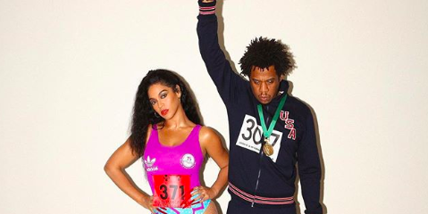 Beyonce and JAY-Z Should Win Gold Medals for Their Olympian Costumes