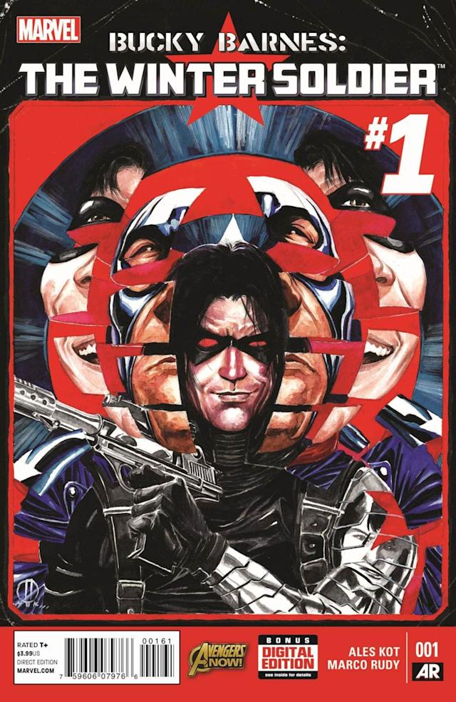 First Look: BUCKY BARNES: THE WINTER SOLDIER #1