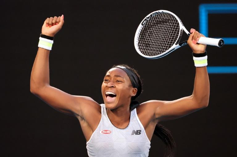 Coco Gauff stunned Japan's reigning champion Naomi Osaka to avenge defeat in New York
