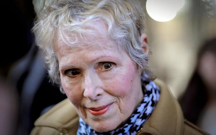 The US Justice Department is seeking to take over Donald Trump's defense in a defamation lawsuit brought by E. Jean Carroll - AP