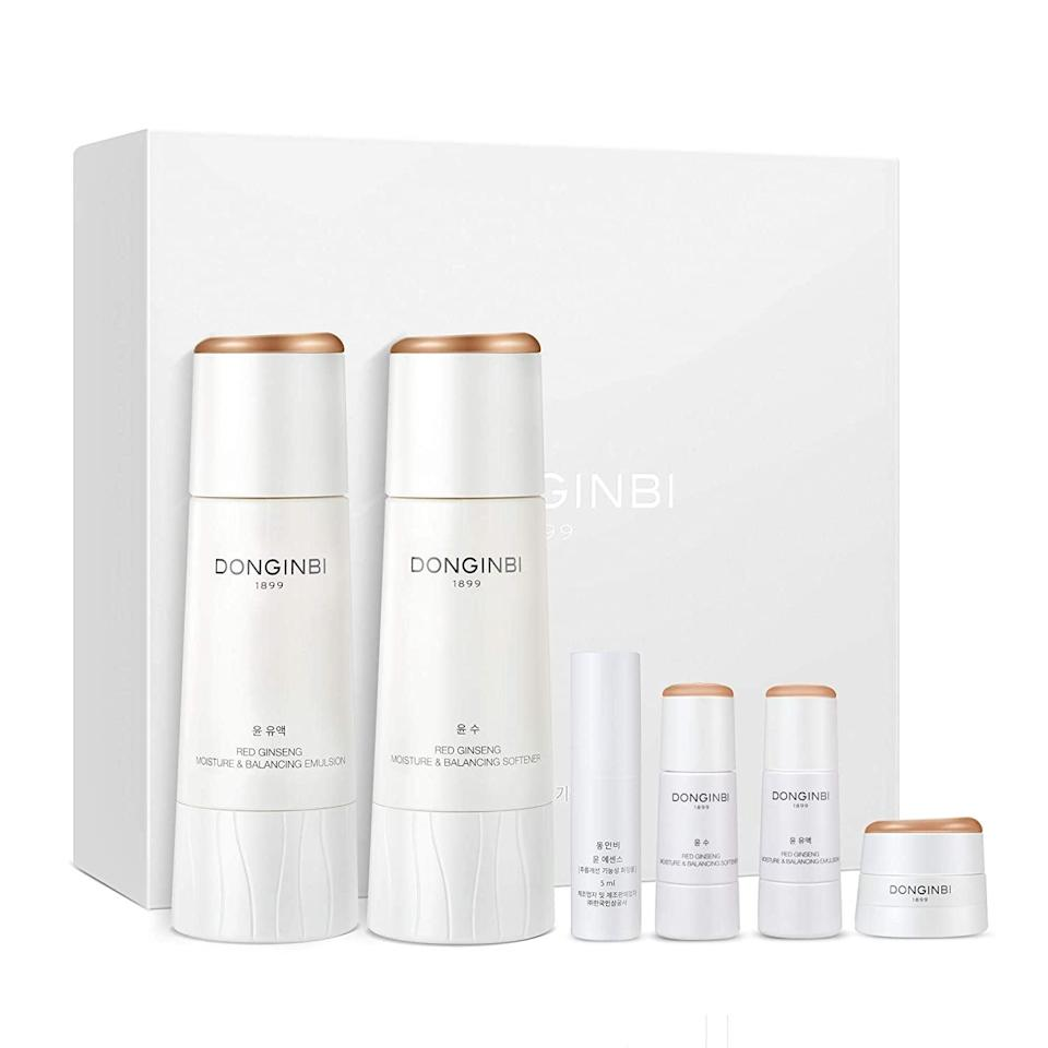 <p><span>Donginbi Red Ginseng Korean Skin Care Set</span> ($46, originally $77)</p>
