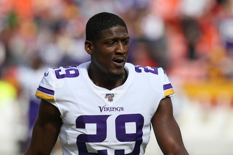 Xavier Rhodes apologized for his Monday night outburst and acknowledged his struggles on the field. (Scott Winters/Icon Sportswire via Getty Images)