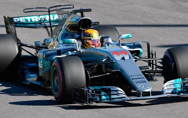 <span>Can Lewis Hamilton win from fourth of the grid in Russia?</span> <span>Credit: ALEXANDER NEMENOV /AFP </span>