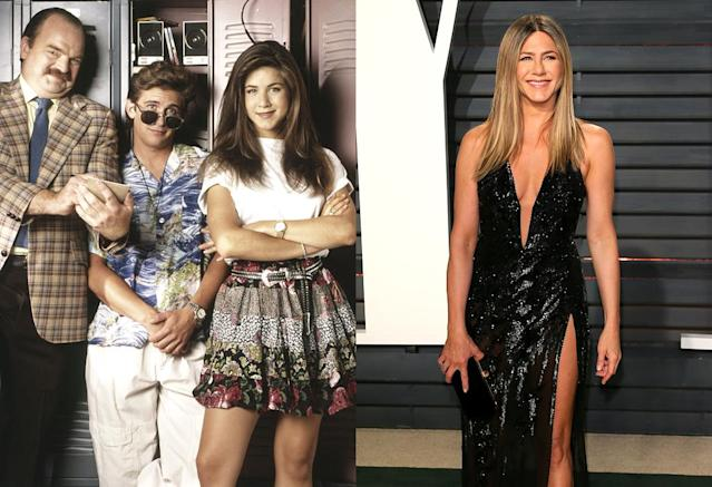 <p>Ditto this TV series take on the classic John Hughes film, which is utterly forgettable and devoid of the movie's charm. But yes, it did feature future Emmy and Golden Globe-winning <em>Friends</em> star Aniston as Jeannie, the jealous older sister of Ferris. (Photo: NBC/Everett Collection/Getty Images) </p>