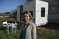 For architect Pelin Dustegor, tiny houses are an easier and less risky investment than hotels