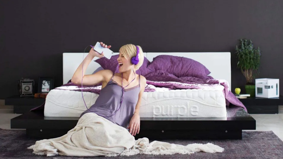 Purple has a unique gel material that might not be for everyone, but sets it apart.