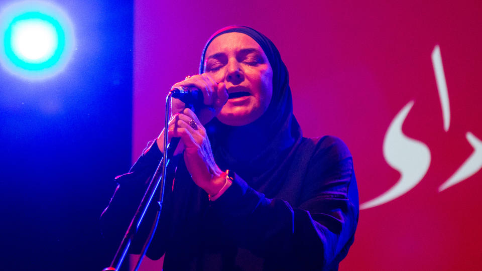 Sinéad O'Connor will step away from live performances and the music industry as a whole. (Roberto Finizio/Getty Images)