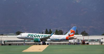 Ontario International Airport is celebrating the addition of five new Frontier Airlines flights, including two Central American destinations.