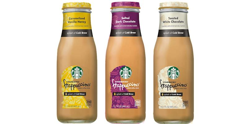 Starbucks Is Selling Three New Bottled Frappuccinos At