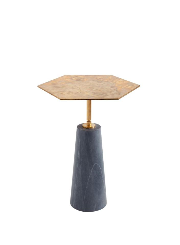"""$2900, Egg Collective. <a href=""""https://www.eggcollective.com/hawley-side-table-h"""" rel=""""nofollow noopener"""" target=""""_blank"""" data-ylk=""""slk:Get it now!"""" class=""""link rapid-noclick-resp"""">Get it now!</a>"""