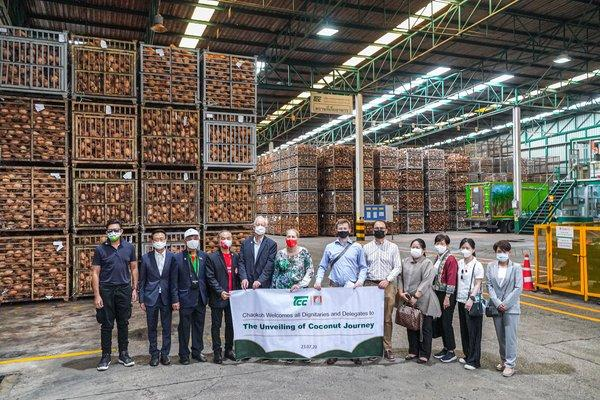TCC's executives welcomed foreign diplomatic dignitaries and representatives from Netherlands, Switzerland, Russia, Sweden and other EU countries together with international media to company's factory and farms.