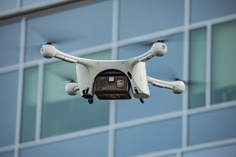Matternet and UPS partners to deliver medical samples via unmanned drones at WakeMed's hospital in Raleigh, N.C.