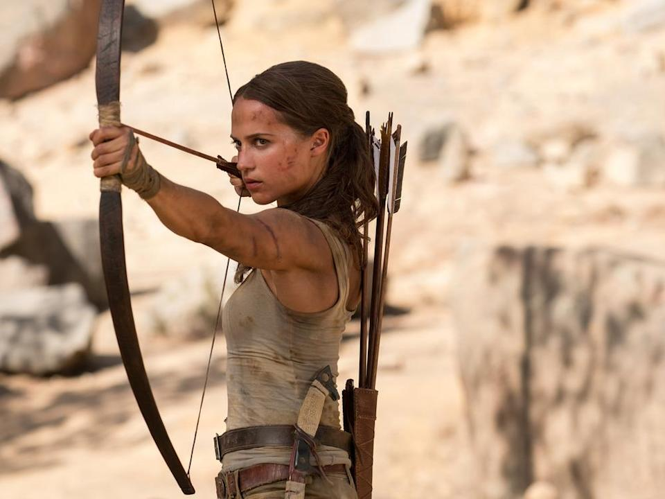 "Alicia Vikander als Lara Croft in ""Tomb Raider"" (Bild: 2017 Warner Bros. Entertainment Inc. and Metro-Goldwyn-Mayer Pictures Inc. All Rights Reserved.)"