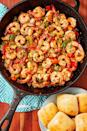 """<p>Spicy shrimp mixed with peppers, corn, and onion just speaks to us. </p><p>Get the recipe from <a href=""""https://www.delish.com/cooking/recipe-ideas/recipes/a51607/cajun-shrimp-recipe/"""" rel=""""nofollow noopener"""" target=""""_blank"""" data-ylk=""""slk:Delish"""" class=""""link rapid-noclick-resp"""">Delish</a>. </p>"""