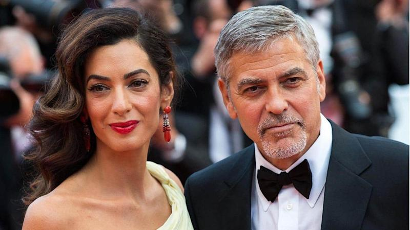 Clooney couple, playwright Ray Cooney help UK