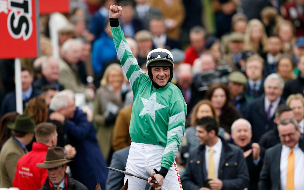 Davy Russell wins the Pertemps on Presenting Percy - Credit: Andrew Boyers/Reuters