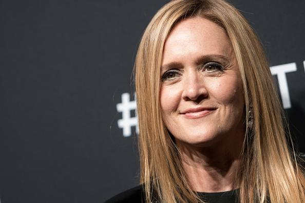 """Samantha Bee suited up for the """"Not The White House Correspondents' Dinner,"""" because she's our comedy queen"""
