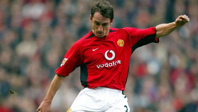 <p><strong>Number of Premier League assists: 35</strong></p> <br><p>Not necessarily known for his offensive qualities, Neville's sheer endurance as part of Mancherster United's back line has put the former England international into sixth place. Having been a regular starter for the Red Devils for nearly two decades, the 42-year-old reached 35 assists by the time he hung up his boots in 2011.</p>