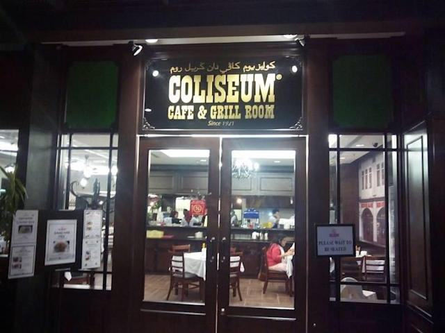The Coliseum Café was one of the capital's oldest and most iconic restaurants. — Picture courtesy of Facebook/Coliseum Café