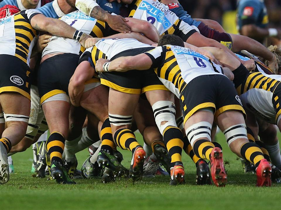 Four Wasps players and three staff members have returned positive Covid-19 test results (Getty Images)