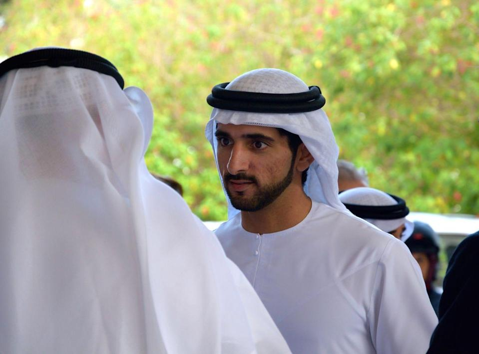 "<p>Sheikh Hamdan bin Mohammed bin Rashid Al Maktoum, also known as Fazza, has close to <a href=""https://www.instagram.com/faz3/"" rel=""nofollow noopener"" target=""_blank"" data-ylk=""slk:6 million followers on Instagram"" class=""link rapid-noclick-resp"">6 million followers on Instagram</a>, just in case you wanted to see his adventures in scuba diving or tending to a beautiful hawk. At 35, Fazza is one of the world's most eligible royal bachelors. </p>"