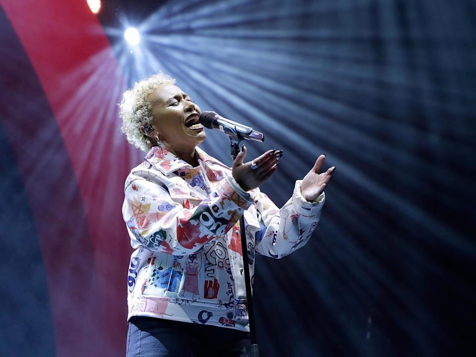 Emeli Sande performs at the O2 Academy Brixton in 2018: John Phillips/Getty Images for G