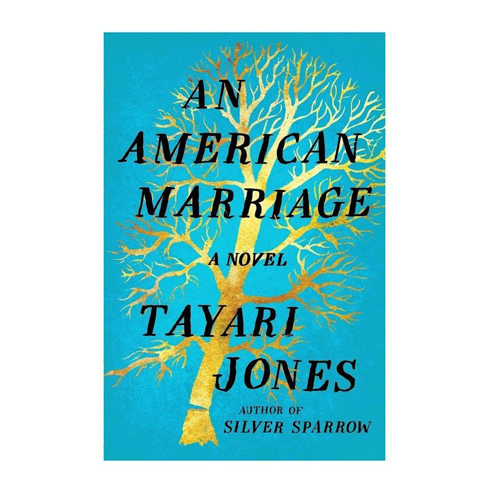 """<p><strong>$11.15</strong> <a class=""""link rapid-noclick-resp"""" href=""""https://www.amazon.com/American-Marriage-Novel-Oprahs-Selection/dp/1616208775/ref=tmm_hrd_swatch_0?tag=syn-yahoo-20&ascsubtag=%5Bartid%7C10054.g.35036418%5Bsrc%7Cyahoo-us"""" rel=""""nofollow noopener"""" target=""""_blank"""" data-ylk=""""slk:BUY NOW"""">BUY NOW</a></p><p><strong>Genre: </strong>Fiction<br></p><p>With a glowing stamp of approval from Oprah's Book Club, <em>An American Marriage </em>tells the story of newlyweds Celestial and Roy who are separated when Roy gets arrested for a crime his wife believes he was wrongly accused of. Celestial turns to childhood friend Andre in her solace, and as time passes, her feelings about her marriage change.</p>"""