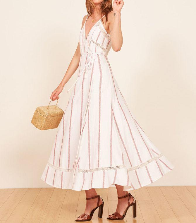 We'd be twirling in this maxi style too. Available in sizes XS to XL.