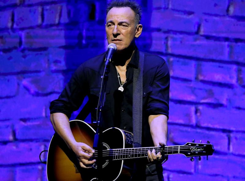Bruce Springsteen says he's written 'almost an album's worth of material for the band'