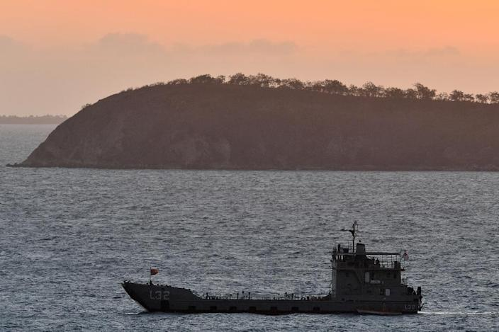 Australian PM Scott Morrison has committed to developing a military base in Papua New Guinea (AFP Photo/Saeed KHAN)