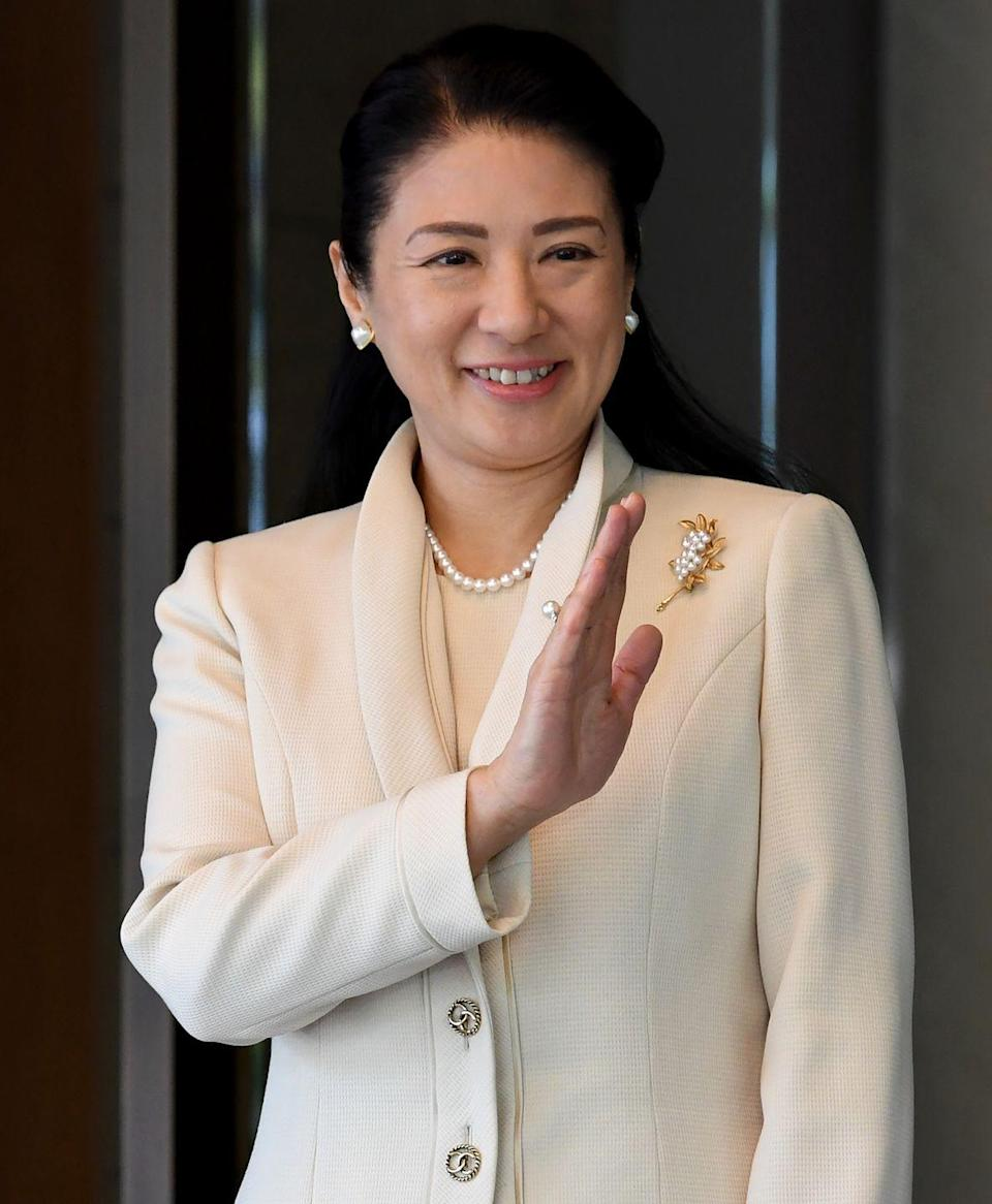 "<p>In 1992, the Harvard-educated Masako gave up a promising career in diplomacy to marry Naruhito, Crown Prince of Japan, after he proposed three times over several years. She <a href=""http://www.bbc.com/news/world-asia-38898500"" rel=""nofollow noopener"" target=""_blank"" data-ylk=""slk:later told the media"" class=""link rapid-noclick-resp"">later told the media</a> she finally agreed to marry <a href=""https://www.youtube.com/watch?v=V_4dzPPspME"" rel=""nofollow noopener"" target=""_blank"" data-ylk=""slk:when her future husband said"" class=""link rapid-noclick-resp"">when her future husband said</a>, ""You might have fears and worries about joining the imperial household, but I will protect you for my entire life."" </p>"