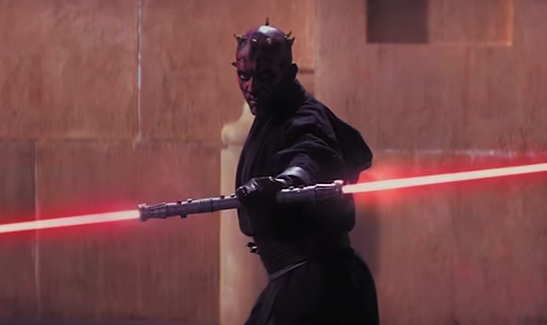 Darth Maul in 'The Phantom Menace' (Lucasfilm)