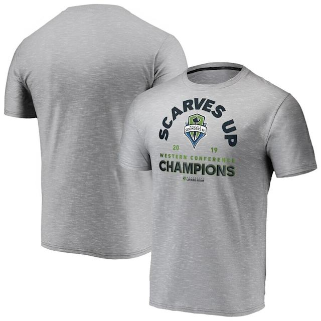 Sounders FC 2019 MLS Western Conference Champions T-Shirt
