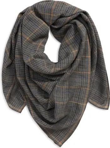 <p>As this <span>Madewell Oversize Bandana Scarf</span> ($35) proves, a scarf doesn't have to be strictly practical. Thanks to this subtle plaid print, it can be pretty cute, too. Wear this on a brisk fall afternoon or whenever you want to dress up a simple blazer and tee.</p>