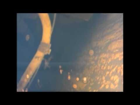 """<p>On July 19, Tokyo Electric Power Company (<span class=""""caps"""">TEPCO</span>) sent a new type of submersible robot into the containment vessel of the third reactor at the Fukushima nuclear plant to search for fragments of melted nuclear fuel.</p><p>This footage, captured by the robot's camera, shows the interior of the reactor.</p><p>The search lasted for three hours, according to the <a href=""""http://www.japantimes.co.jp/news/2017/07/19/national/tepco-sends-new-type-robot-fukushima-no-1-reactor-search-fuel-debris/#.WW_4I4SGPmE"""" target=""""_blank"""">Japan Times</a>, and the fuel debris was not located. Nevertheless, a <span class=""""caps"""">TEPCO</span> spokesman said the Toshiba robot provided new information about the damage sustained during the 2011 earthquake and tsunami.</p><p>Previous attempts to probe the interior of the first and second reactors at the damaged nuclear plant with robots have stalled due to structural damage and high levels of radiation. Investigators with the company believe that the debris, which needs to be removed for the decontamination of the plant, is located within the third reactor.</p><p>All three reactors suffered a meltdown during the 2011 Fukushima earthquake and tsunami. Credit: <span class=""""caps"""">TEPCO</span> via Storyful</p>"""