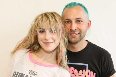 Good Dye Young Founders Hayley Williams and Brian O'Connor