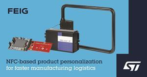 NFC-based product personalization for faster manufacturing logistics