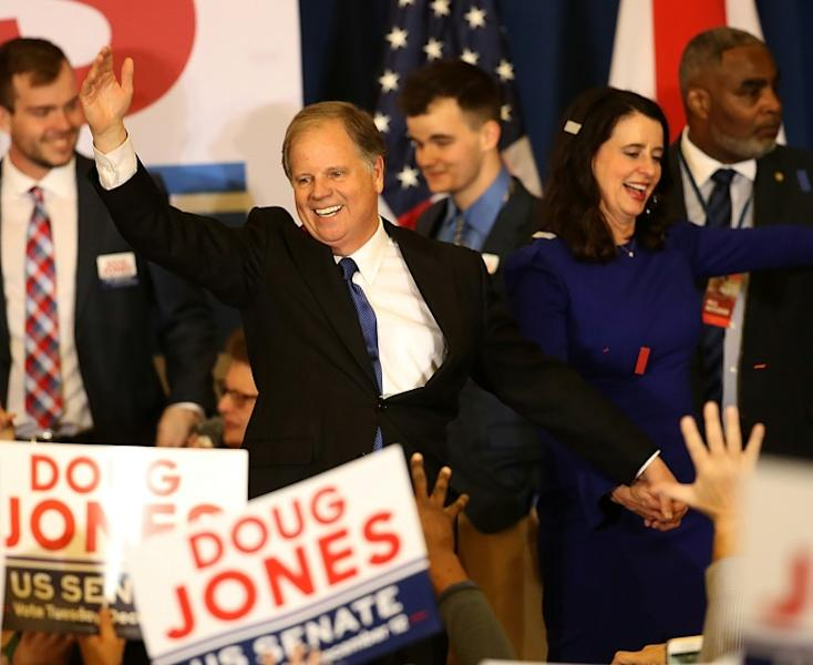 Doug Jones becomes the first Democrat since 1992 to be elected to the US Senate