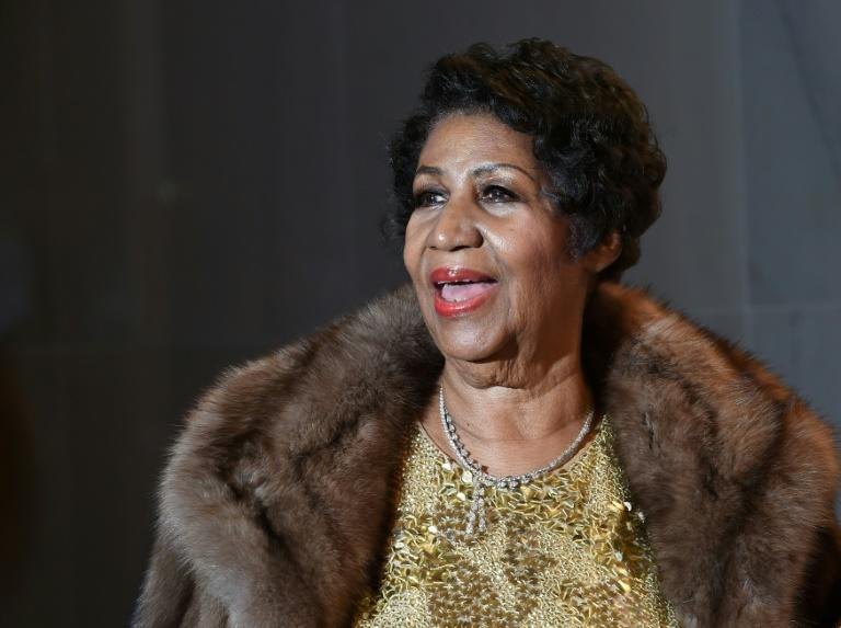 Aretha Franklin at the 38th Annual Kennedy Center Honors in December 2015