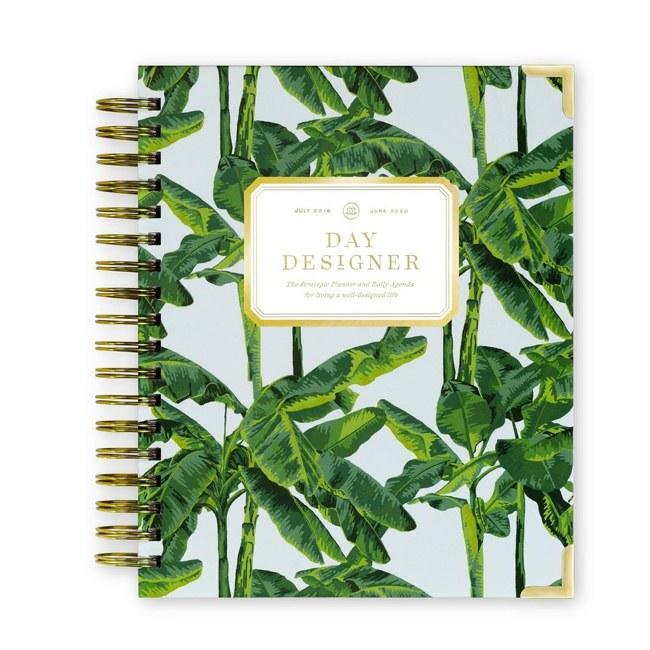 """Day Designer doesn't mess around when it comes to a planner. If you want your whole life organized (outside your phone) this planner is the way to go. Its Today & To-Do page format combines your daily schedule and to-do list on one page, so you never miss a beat. $59, Day Designer. <a href=""""https://daydesigner.com/collections/shop-all/products/academic-year-2019-daily-planner-palm-beach"""">Get it now!</a>"""