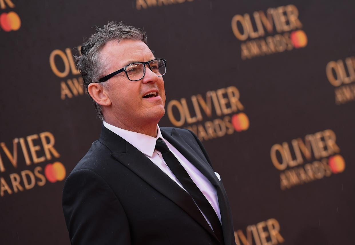 Shane Richie attends The Olivier Awards with Mastercard at the Royal Albert Hall on April 07, 2019 in London, England. (Photo by Jeff Spicer/Jeff Spicer/Getty Images)